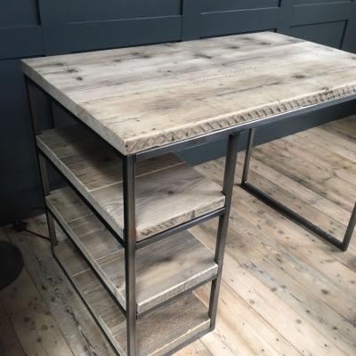 INDUSTRIAL DESK WITH STORAGE  £450