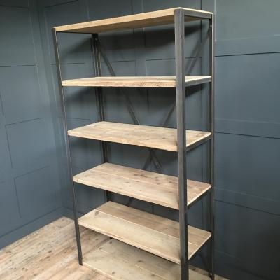 ANGLE IRON SHELVING UNIT