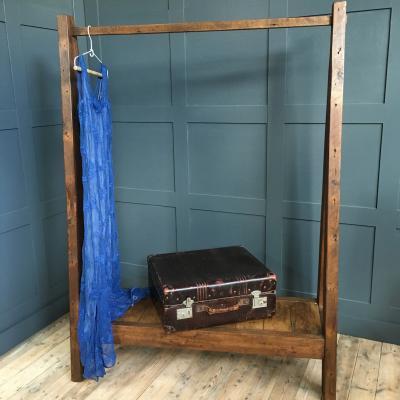 Hanging Rail with Shelf