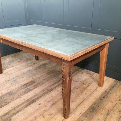 Zinc Table Large £850.00