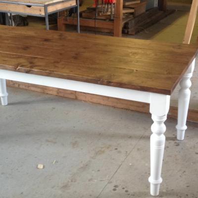 Turned Leg Table
