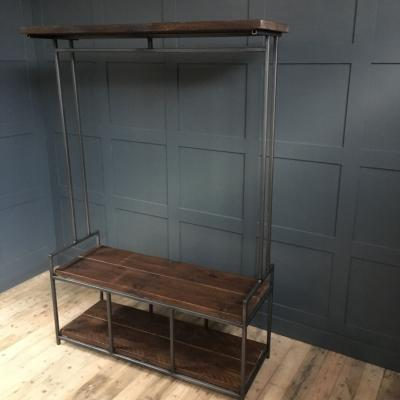 Storage Unit with Bench