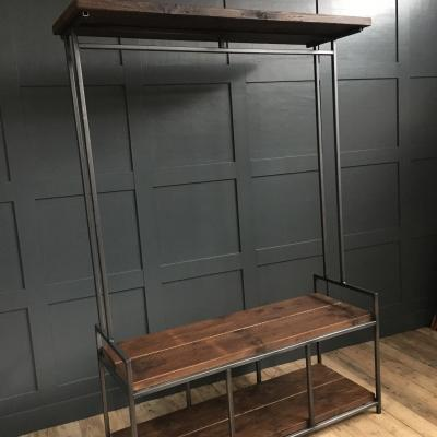 Storage Unit with Bench