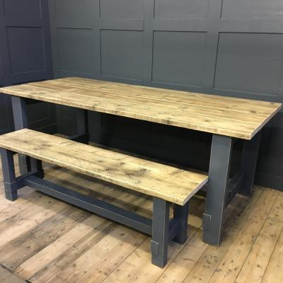 Painted Refectory Table