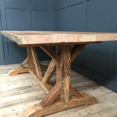 Reclaimed Cathedral Table £950