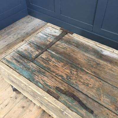 FRENCH BARN DOOR RECLAIMED CHEST/TABLE £595