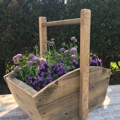Trug Flower Box