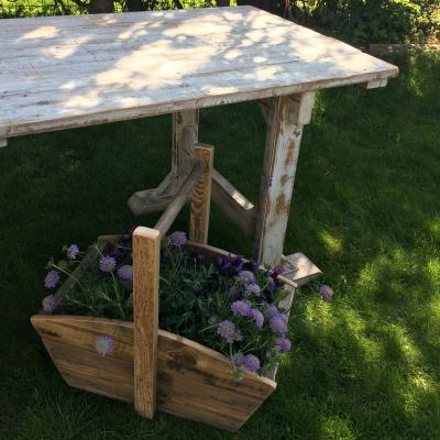 Trug Flower Box