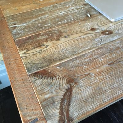 Reclaimed Wood Work Table