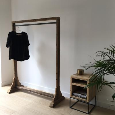 Reclaimed Wood Clothes Rail
