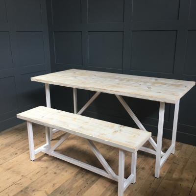 Scandinavian Table and Bench £750