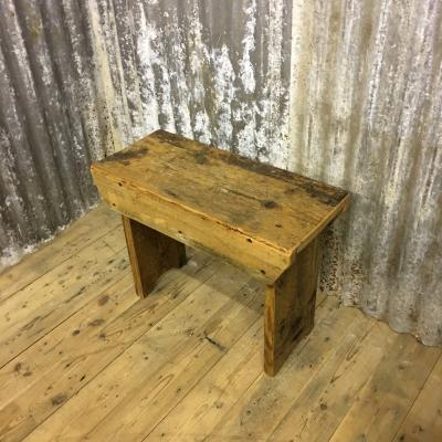 WAXED STOOL £145
