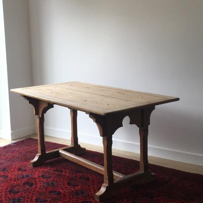 ORIGINAL CHURCH VESTRY TABLE £450