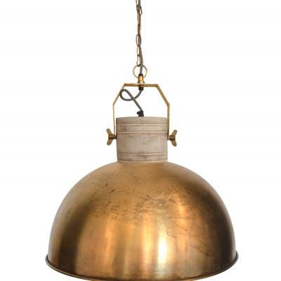 MARLOWE DOME PENDANT - LARGE BRASS £129.95