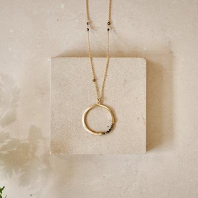 Obini Pyrite Necklace