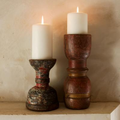 RECLAIMED CANDLE STICK