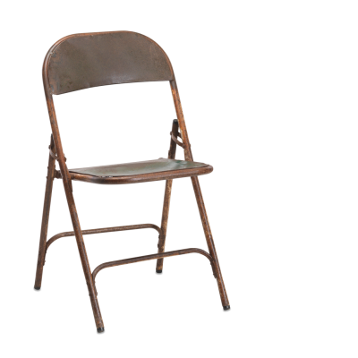 RECLAIMED FOLDING INDIAN CINEMA CHAIR