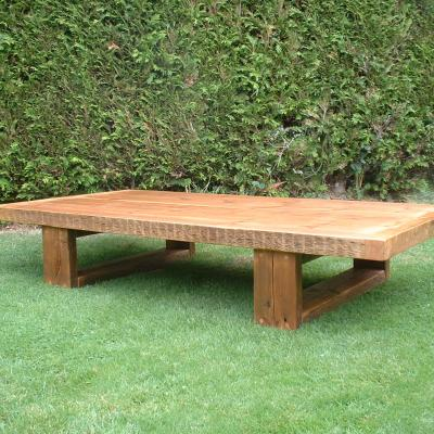 Low Reclaimed Wood Table