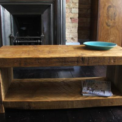 Reclaimed Chunky Wood Media Unit