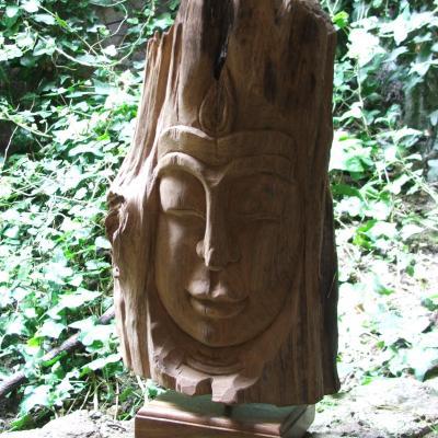Hand Carved Buddha £48