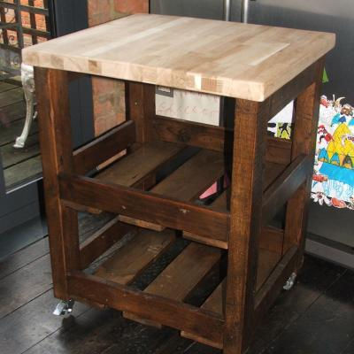Butchers Block with Beech Top