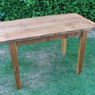 Rustic French Farmhouse Table from £450