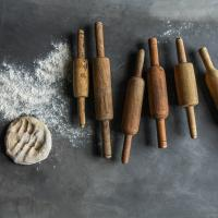 RECLAIMED CHAPATTI ROLLING PIN £14.95