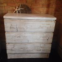Chest of Drawers Whitewashed