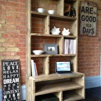 Sectioned Shelving Unit £795.00