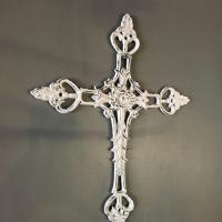 WHITE CROSS CAST IRON £25