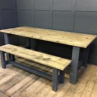 Painted Refectory Table £795.00