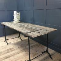 GOTHIC FRENCH DOOR TRESLE TABLES £495.00