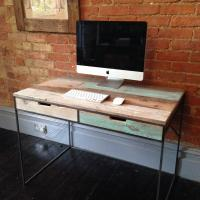 Reclaimed Wood and Metal Table £650