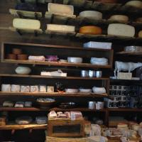 Shelving at La Fromagerie Moxon Street Made to any Size