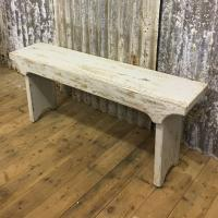 BENCH WHITEWASHED £175.00