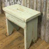 GREEN/BLUE STOOL £145
