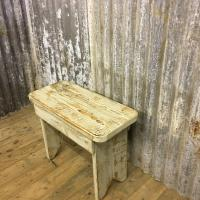 PRIMITIVE STOOL £95