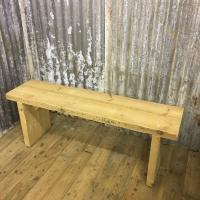 RECLAIMED WOOD BENCH £130