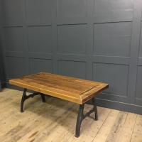 New York Cast Iron Coffee Table