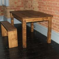 Rustic French Farmhouse Table from £350