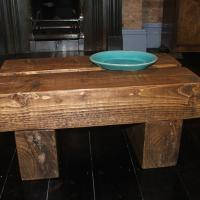 Chunky Beam Low Table