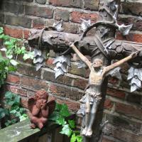 French Cast Iron Cross