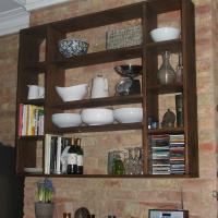 Sectioned Shelving Unit