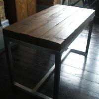 Steel and Reclaimed Wood
