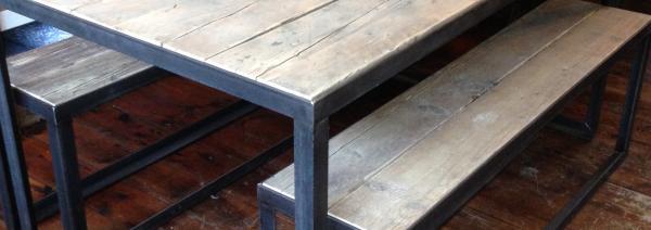 Angle Iron Table £550